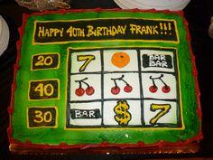 Slot machine cake slot machine cake, birthday, birthday cakes, f Gil Elvgren, Healthy Chicken Recipes, Healthy Foods To Eat, Credit Cards, 90th Birthday, Birthday Cakes, Cake Aux Raisins, App Iphone, Party Friends