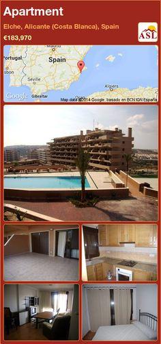 Apartment in Elche, Alicante (Costa Blanca), Spain ►€183,970 #PropertyForSaleInSpain