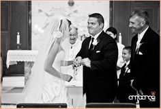 Weeding Ceremony #church #vows #rings