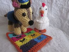 Ravelry: Paw Patrol - Pup Pup Boogie Playmat pattern by Melissa's Crochet Patterns.....free ravelry download