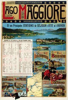 lago maggiore | bella lago maggiore | pinterest | travel posters ... - Soggiorno Lago Maggiore