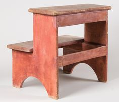 Lot 234: Two Step-Stool | Willis Henry Auctions, Inc.
