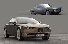 BMW CS Vintage Concept: Das ist der Entwurf David Obendorfers, der sich an die...