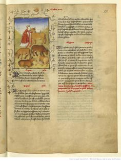 L'Epistre Othea à Hector, fol Illustrations, Paper, Books, Miniature, Queen, Alphabet, Footprint, Pictogram, Libros