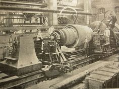 More large lathes, 1909