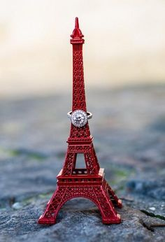 An Eiffel Tower proposal! #wedding