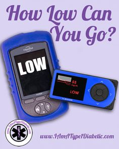 How low can you go? Depending on your body, and your tolerance, will depend on how low your blood sugar can go before it becomes a scary, unpredictable path to be on. Drinking, dorming and being in… High Blood Glucose, Blood Glucose Levels, Blood Sugar Levels, Diabetes In Children, Types Of Diabetes, Diabetes Mellitus, Insulin Resistance, Diabetes Management, Gestational Diabetes