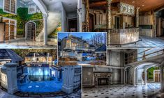 Inside an abandoned millionaire's mansion