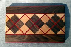 Picture of How To Make A Fabulous Argyle Cutting Board
