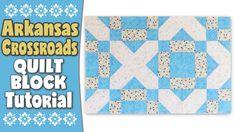 Quilting Blocks: Arkansas Crossroads Quilt Block Tutorial