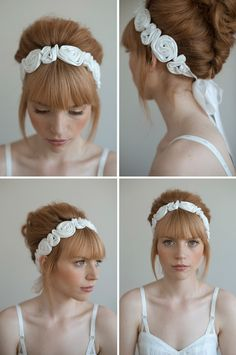 love the bangs love the headband