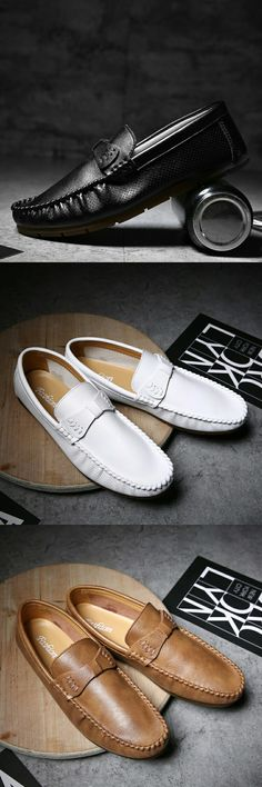 New Arrival High Quality Penny Loafers British Style Men Shoes Luxury Brand Italian Fashion Designer Shoes Men Casual Flats