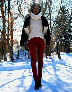 Style My Dreams blog  - Merlot Yoga Jeans™