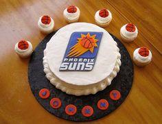 Birthday Cakes Phoenix ~ Phoenix suns cake phoenix and cake