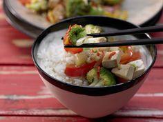 Brokkoli-Tofu-Wok