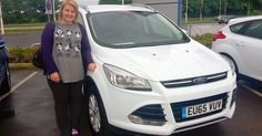 Congratulations to Jantybeth Johnson on getting behind the wheel of her brand-new #65Plate Ford Kuga Titanium!