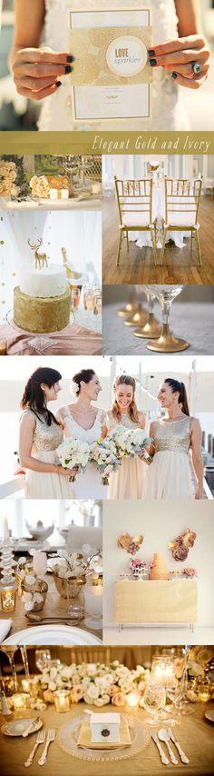 Gold & Ivory Wedding