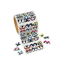 1005 Pcs - Cute Colorful Eye Stickers - Stickers & Labels & Novelty Stickers Oriental Trading Company http://www.amazon.com/dp/B005DS6ZR6/ref=cm_sw_r_pi_dp_Hwozvb1H4GEYM