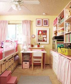 Kid's Room a Disaster?  The goal: To get rid of old, broken, and unused items and organize the rest in containers that your child can access effortlessly. This is great for when they get older