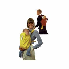 Infant Carrier Simplicity 6428 Vintage Sewing Pattern