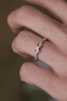 cz infinity silver promise ring. I would probably melt if I was given an infinity promise ring no doubt about it