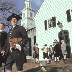 St. John's Church reinactment ofPatrick Henry's Speak give me Liberty or Give me Death!