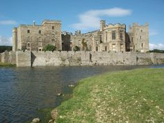 Raby Castle is near Staindrop in County Durham, England