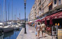 Toulon le port