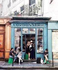 Fathom - Paris Storefronts | Fathom editors explain 15 charming places to visit in Paris. #refinery29 http://www.refinery29.com/fathom/9