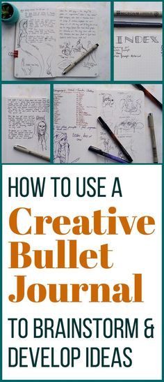 The bullet journal is a great place to plan your daily life and jot down ideas. But I wanted to harness this great system and create a journal that allowed me to collect, dive into, and flesh out ideas. I wanted a devoted place where I can come to work on stories I'm writing or characters I'm building. What I have come up with is the Creative Bullet Journal. In it I can organize and dive into my thoughts about several projects instead of keeping it all in my daily planning bullet journal