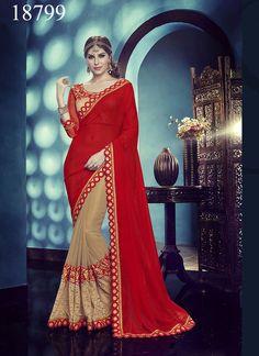 Partywear Designer Pakistani Sari Wedding Saree Dress Ethnic Bollywood Indian #Tanishifashion #DesignerSaree