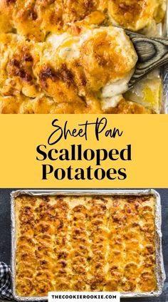 When it comes to side dishes, it really doesn't get much better than creamy scalloped potatoes! This delicious scalloped potato recipe is one of my go to side dishes for the holidays. #scallopedpotatoes #yukongoldpotatoes #thanksgivingside #feedacrowd #easysidedish #sheetpanrecipe #Gruyerecheese Dairy Free Mashed Potatoes, Crispy Baked Potatoes, Herb Roasted Potatoes, Potato Side Dishes, Best Side Dishes, Side Dish Recipes, Potatoe Casserole Recipes, Mashed Potato Recipes, Creamy Scalloped Potatoes