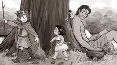 Martin S, Birth Mother, Oblivion, Elder Scrolls, Emperor, Little Boys, Farmer, Dragons, Fanart