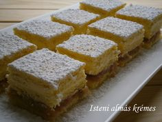 My Recipes, Cooking Recipes, Hungarian Recipes, Hungarian Food, Cornbread, Food And Drink, Sweets, Cookies, Cake