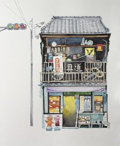 Storefront in Kyoto #kinfineart