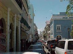 El centro en San Juan, Puerto Rico