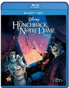 The Hunchback Of Notre Dame / Hunchback Of Notre Dame II (Blu-ray + DVD) (Anamorphic Widescreen) The Disney movies rocked! Dvd Disney, Disney Blu Ray, Disney Movies, Walt Disney, Disney Stuff, Pixar Movies, Comic Movies, Disney Toys, Horror Movies