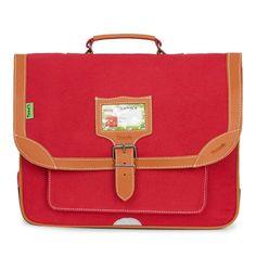 Cartable Rouge 38cm Tann's 60 euros