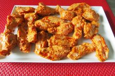 Buffalo Chicken Wings mit Bratgemüse