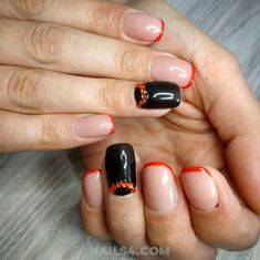 Selection that's full of amazing, cool and new french nail design ideas: all the latest trends, launches, expert techniques and superstars secrets . French Nail Designs, Nail Art Designs, French Nails, Nailart, Nail Ideas, Acrylic Nails, Design Ideas, Nice, Easy