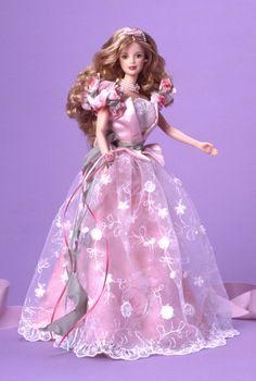 Rose Barbie Doll- Beautiful hair and dress!