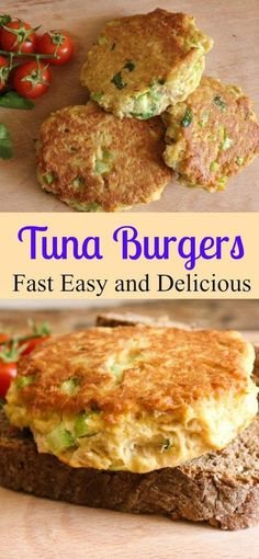 Tuna Burgers, who needs meat when these Tuna Burgers become the best tuna burger recipe ever. Not only delicious but healthy too! /anitalianinmykitchen.com