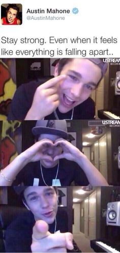 Austin Mahone❤️❤️❤️❤️ #StayStrong