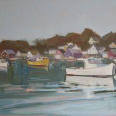 North Haven Harbor by Jillian Herrigel, Dimensions: 18 x 24 in, Price: $400.00