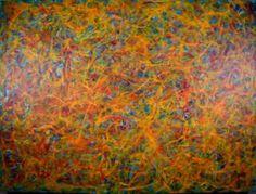 "Saatchi Art Artist Nestor Toro; Painting, ""Energy rising"" #art"