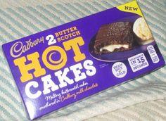 FOODSTUFF FINDS: New Cadbury Hot Cakes - Butterscotch (Sainsburys) [By @Cinabar]