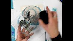 Magic Tutorial, Lavinia Stamps, Water Crafts, Creative Art, Fairies, Stamping, Mixed Media, Tutorials, Youtube