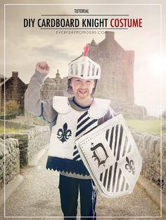 Cardboard Knight Costume Tutorial