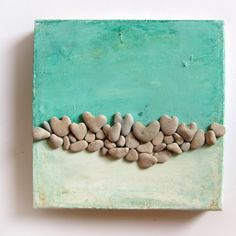 Unique Home Dekor  Pebble  Steinen  Kunst Beach von MedBeachStones