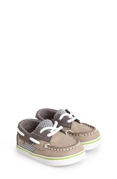 Sperry Kids Sperry Top-Sider® Kids 'Bluefish' Crib Shoe (Baby) available at #Nordstrom